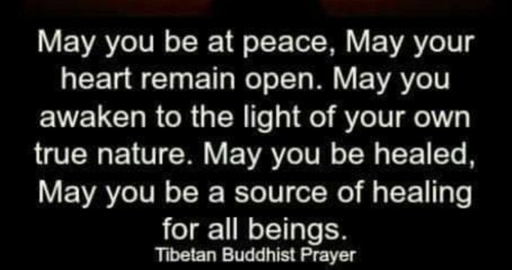 Buddhist Prayer Kindness