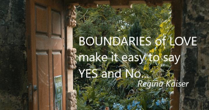 boundaries, love, spiritual, emotional