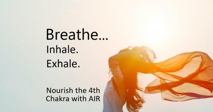 Air, Heart, Chakra, Breathing